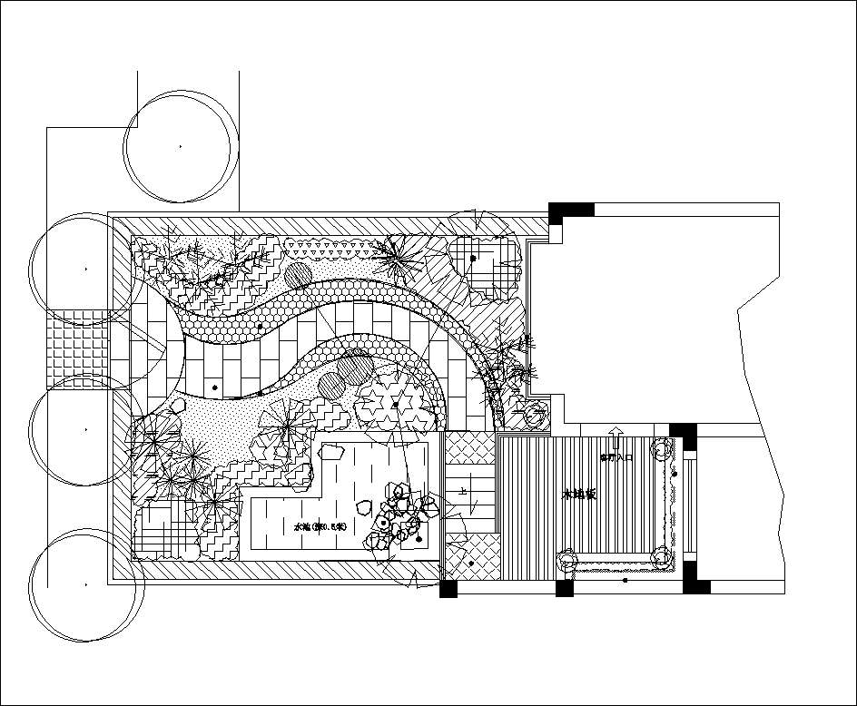 Villa Landscape design,Rooftop garden,Community garden CAD ...
