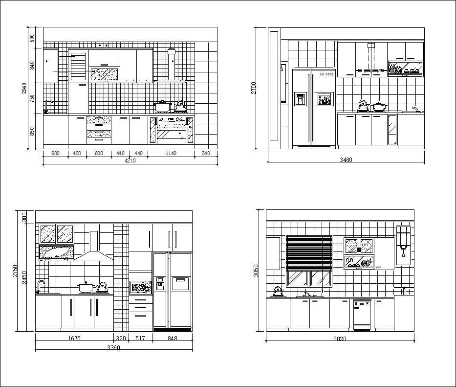 Various Kitchen Cabinet Autocad Blocks Elevation V 1 All Kinds Of Kitchen Cabinet Cad Drawings Bundle Free Autocad Blocks Drawings Download Center