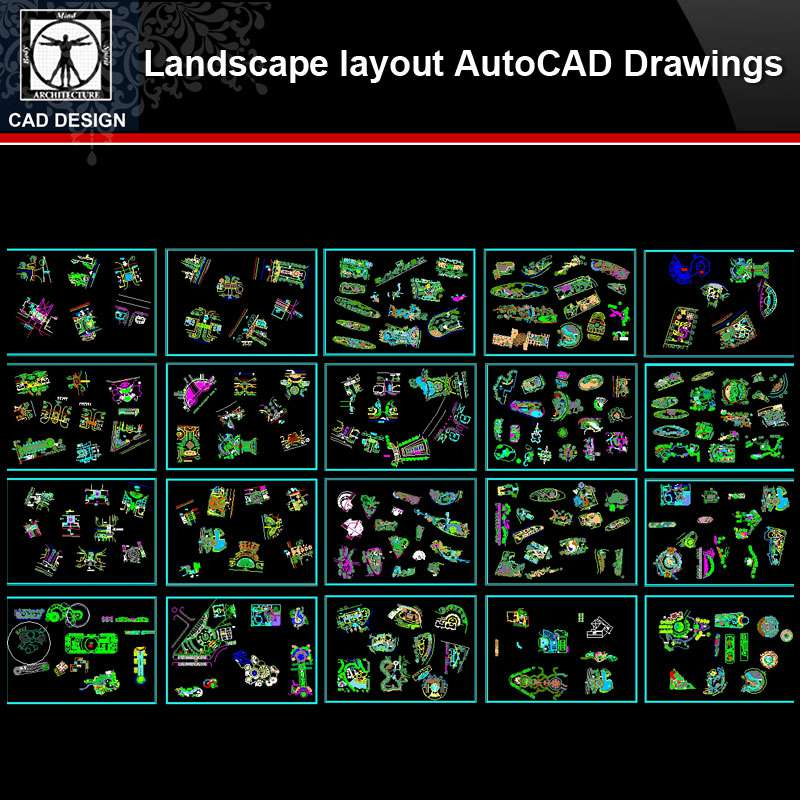 Landscape Layout Autocad Drawings Collections All Kinds Of Landscape Cad Drawings Free Autocad Blocks Drawings Download Center